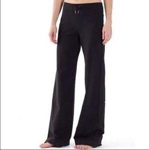 Lululemon wide leg drawstring lounging sweat pants